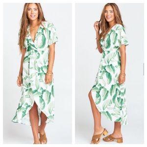 Show Me Your Mumu Zip Twisted maxi dress